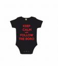 KEEP CALM AND FOLLOW THE BORO black